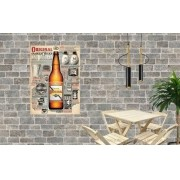 Placa Decorativa Bar Cerveja Original Coisas Boas