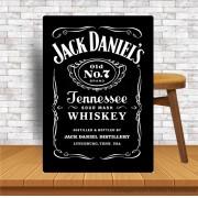 Placa Decorativa Bar Jack Daniells Numero 7 Brand