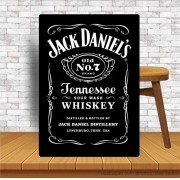 Placa Decorativa Bar Jack Daniells Numero 7 Brand