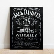 Placa Decorativa Bar Jack Daniells Old Time Old n7
