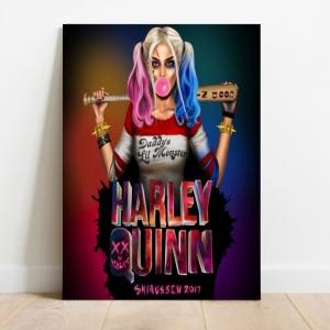 Placa Decorativa Harley Quinn