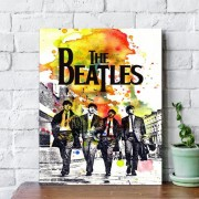Placa Decorativa The Beatles