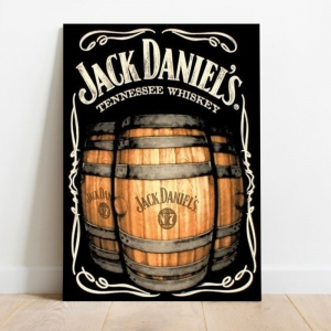 Placa Decorativa Vintage Jack Daniels