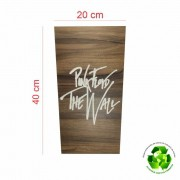Quadro Decorativo MDF Gravado Pink Floyd The Wall