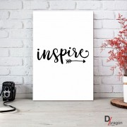 Quadro Decorativo Série Love Collection Arrow Inspire