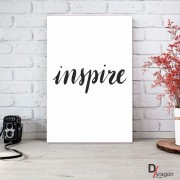Quadro Decorativo Série Love Collection Inspire