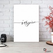 Quadro Decorativo Série Love Collection Minimalista Inspire