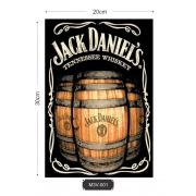 Quadro MDF 3mm Vintage Jack Daniels