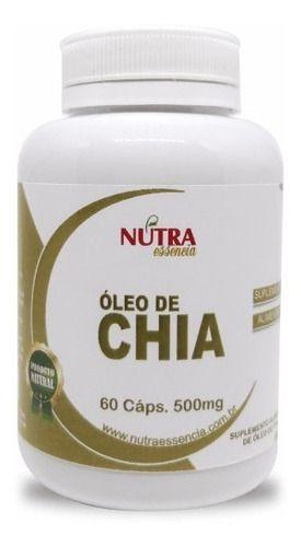 Óleo De Chia 60 Caps
