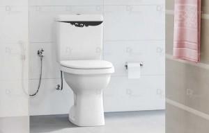 Adesivo Decorativo Mostro Escondido Vaso Sanitário