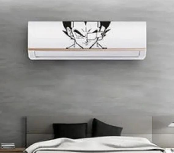 Adesivo Decorativo Vegeta em Recorte Para Ar Condicionado
