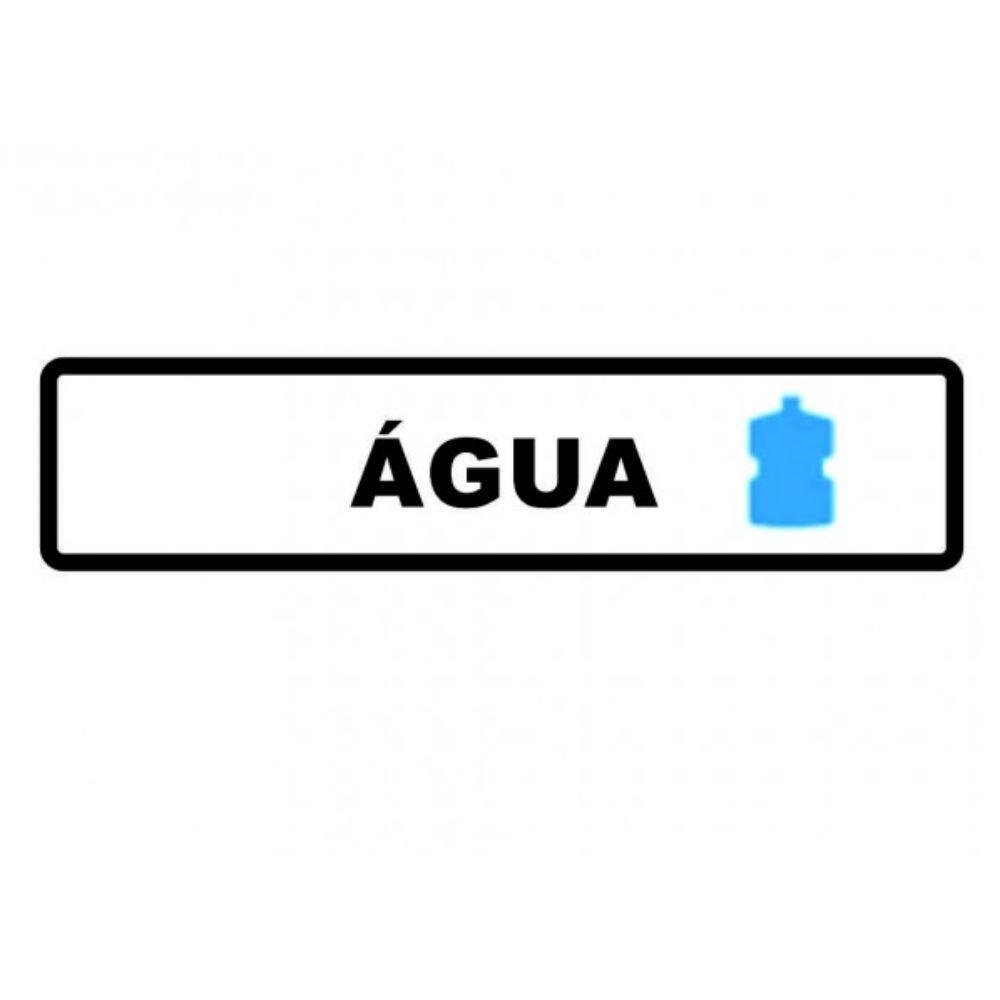 Adesivo Identificação Empresa Sinalização Bebedouro Água
