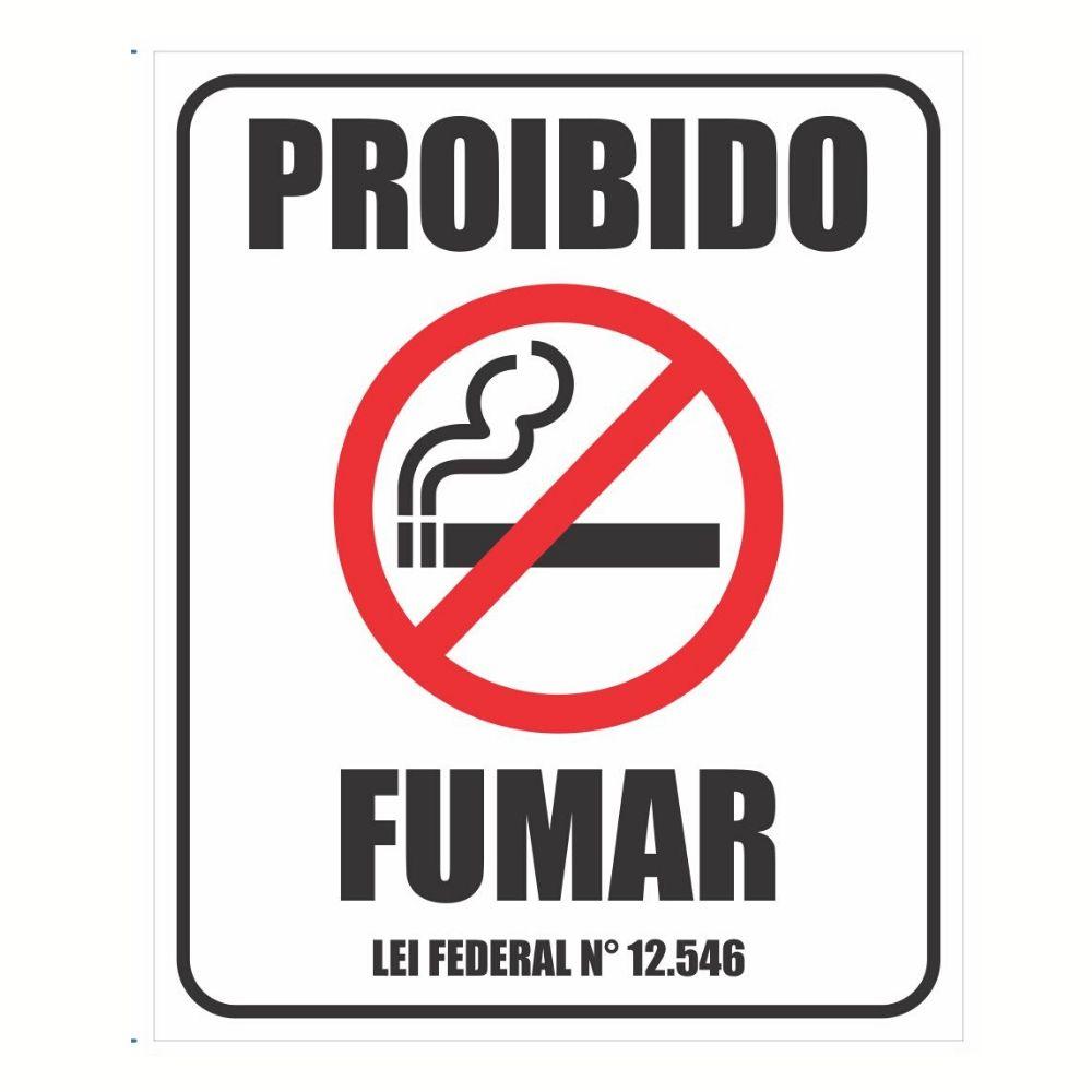 Adesivo Informação Lei Proibido Fumar Ambiente Publico