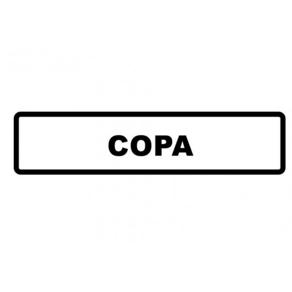 Adesivo Sinalização Identificação Empresa Copa Cozinha