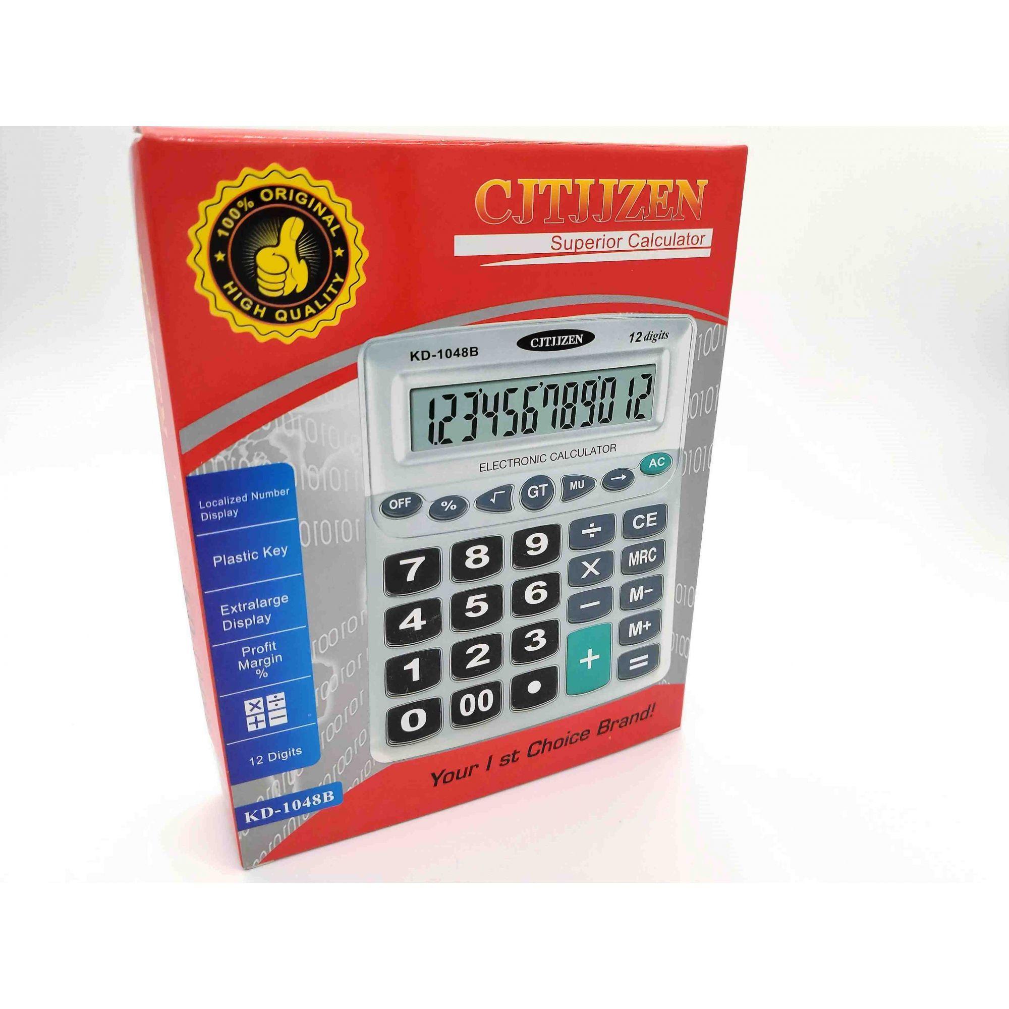 Calculadora 12 Dígitos com Números Grandes
