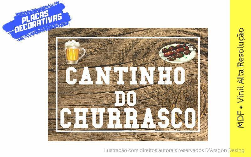 Placa Decorativa Retro Cozinha Churrasco Masterchef