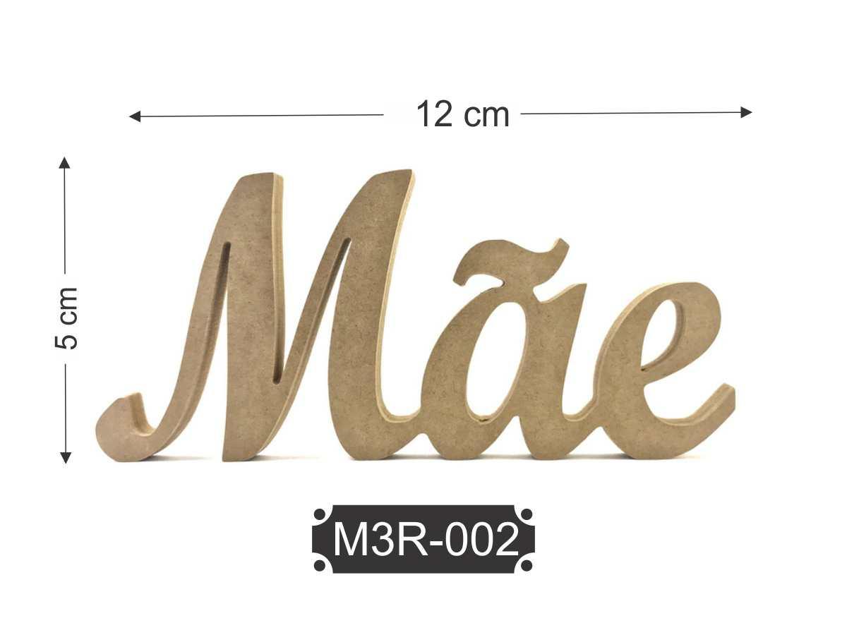 Kit 10 Palavras Mãe em Aplique de MDF