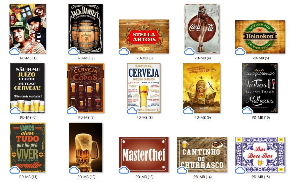 Placa Decorativa Bar Terra de Bêbado Álcool Gel Patê