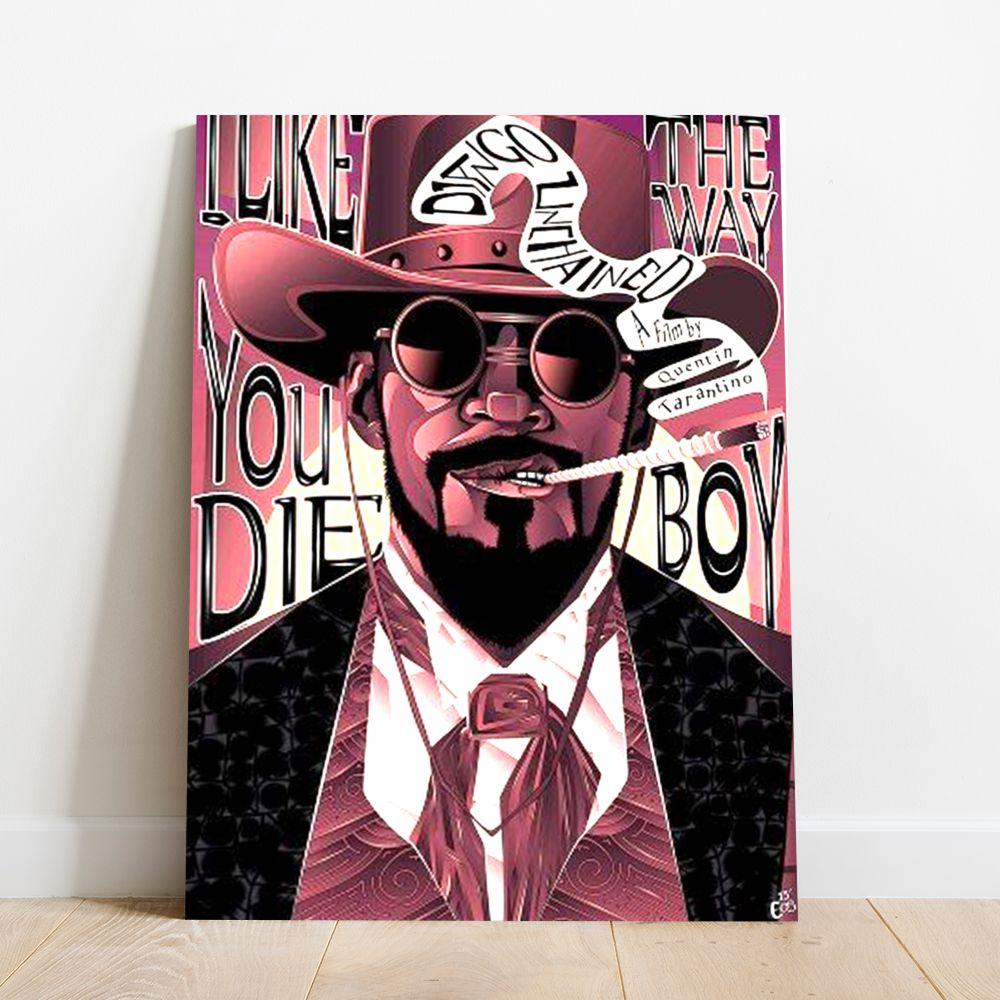 Placa Decorativa Django Livre