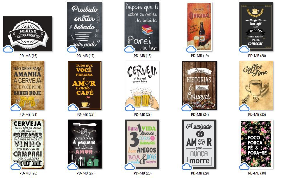 Placa Decorativa Retro Bar Caneco de Chopp