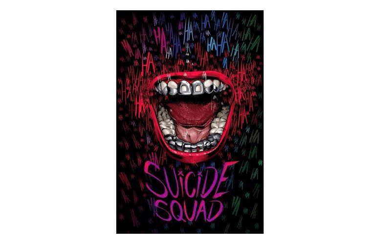 Placa Decorativa Suicide Squad