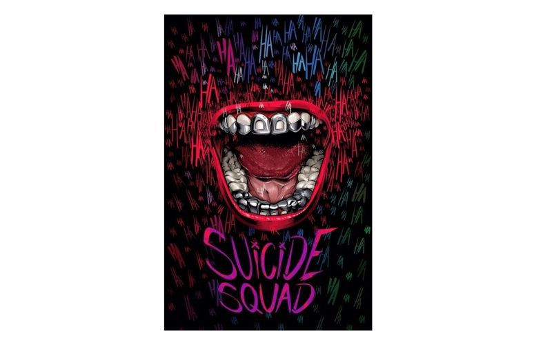 Placa Decorativa Suicide Squad