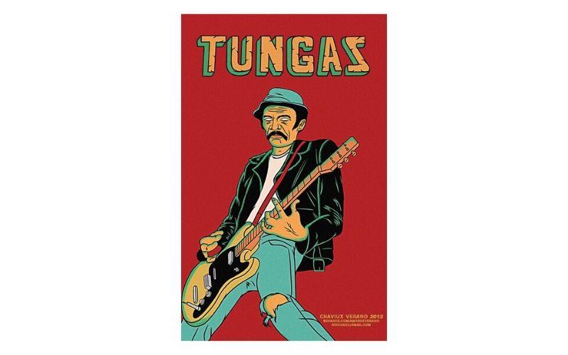 Placa Decorativa Tungas Chaviux Verano 2012