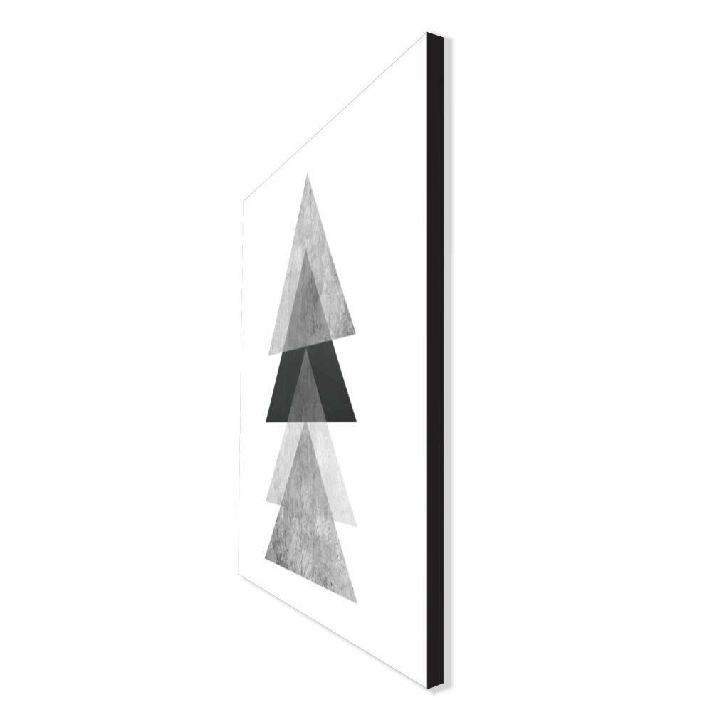 Quadro Decorativo Série Love Collection Abstrato Triângulos