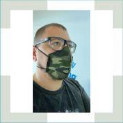 Máscara Camuflada