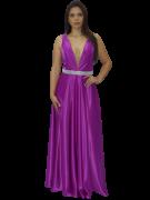 Vestido Rosa Bispo