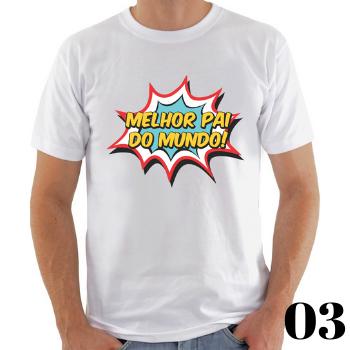 Camiseta Dia dos Pais  - CIA. DO AJUSTE