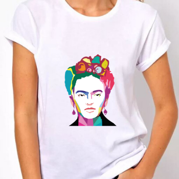 Camiseta Frida Color  - CIA. DO AJUSTE