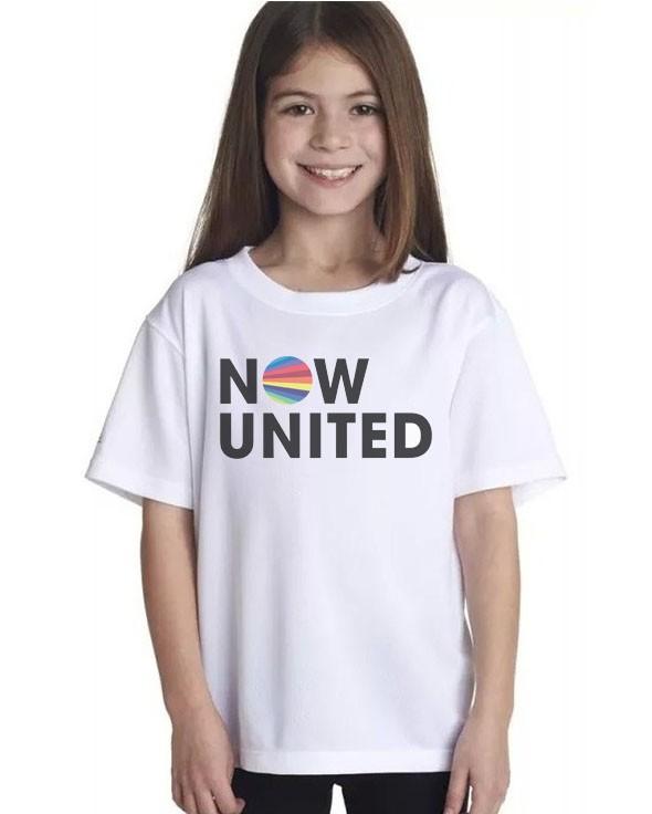 Camiseta NOW UNITED  - CIA. DO AJUSTE