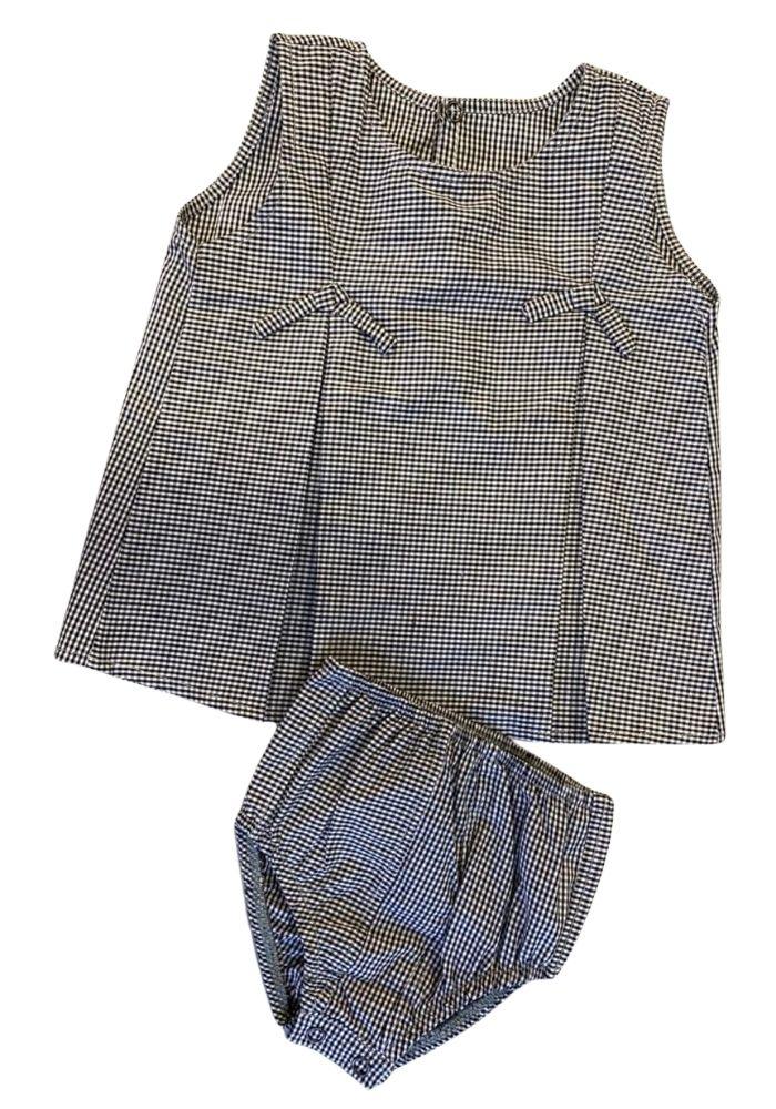 CONJUNTO INFANTIL vestido + calcinha  - CIA. DO AJUSTE