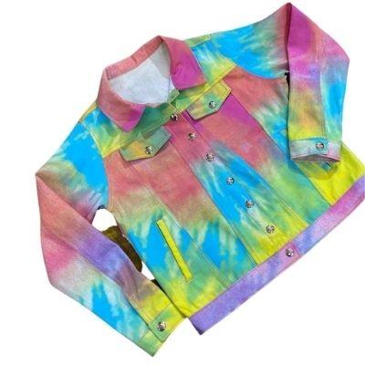 Jaqueta Infantil Tie Dye