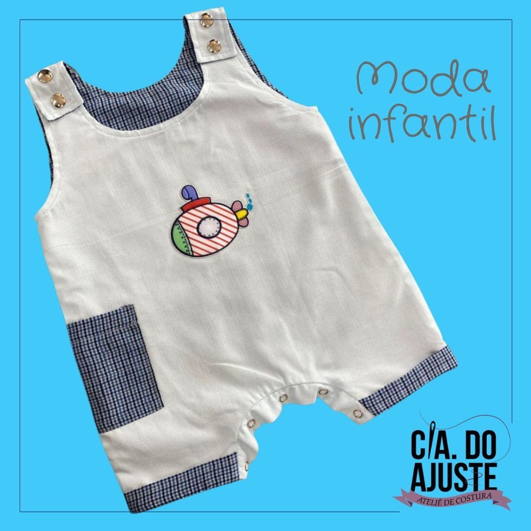 Macaquinho Infantil  - CIA. DO AJUSTE