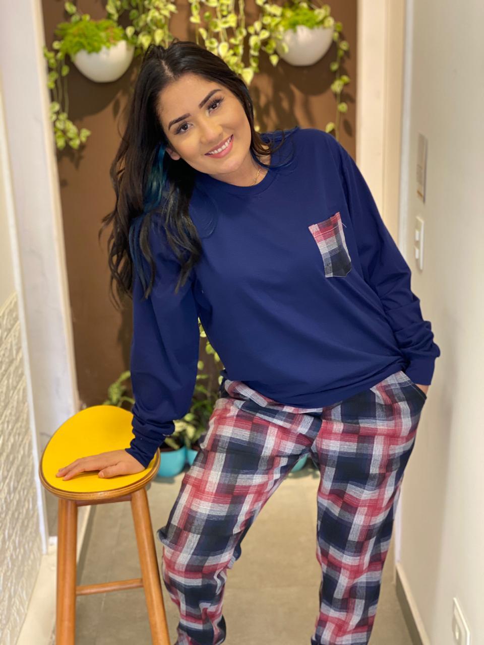 Pijama Flanela  - CIA. DO AJUSTE