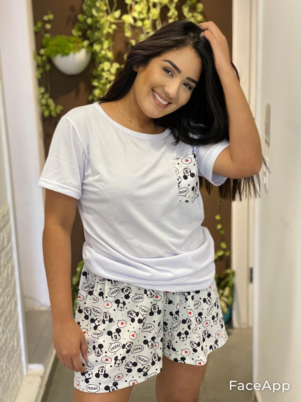 Pijama Mickey  - CIA. DO AJUSTE
