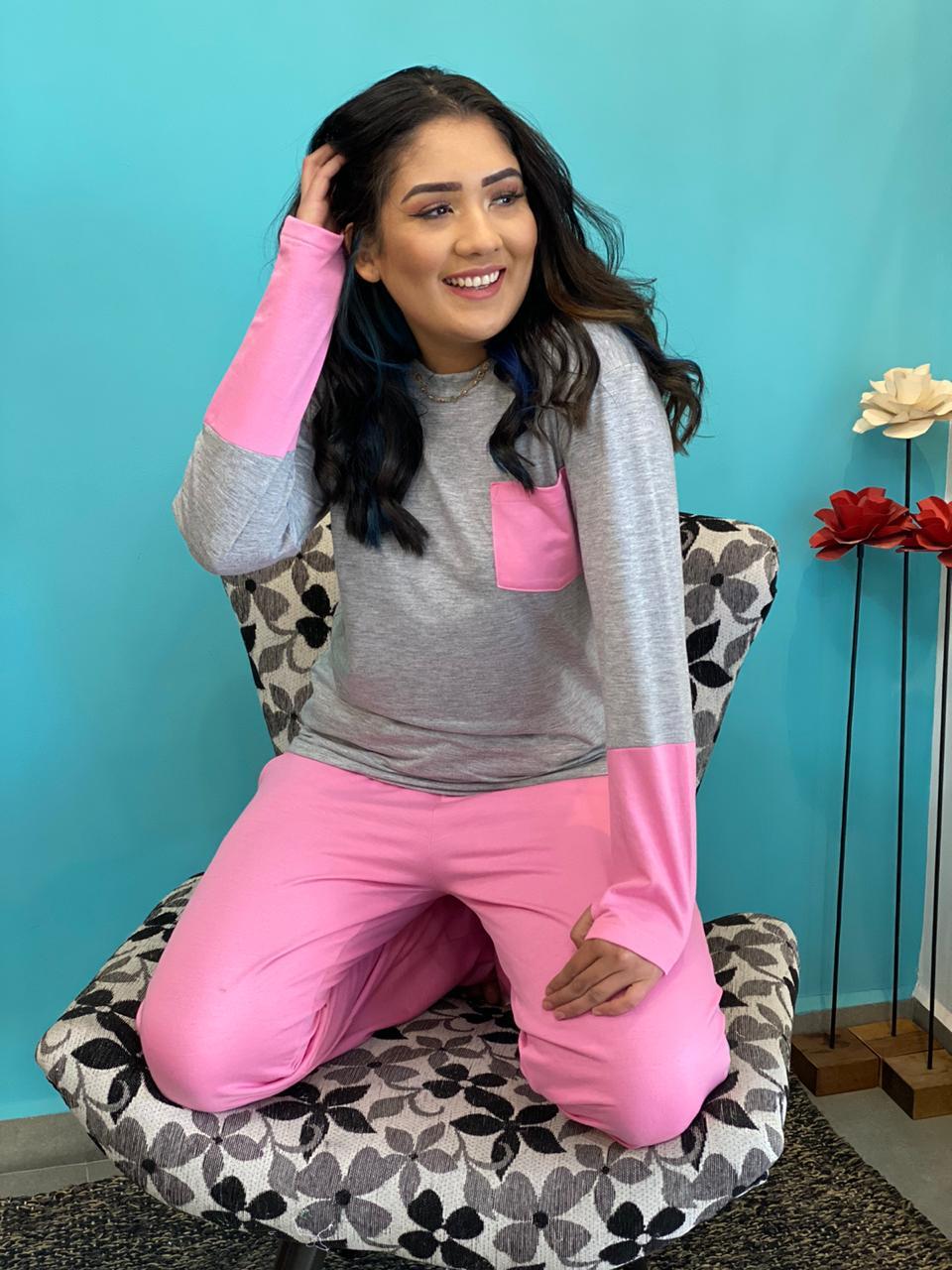 Pijama Pluminha  - CIA. DO AJUSTE