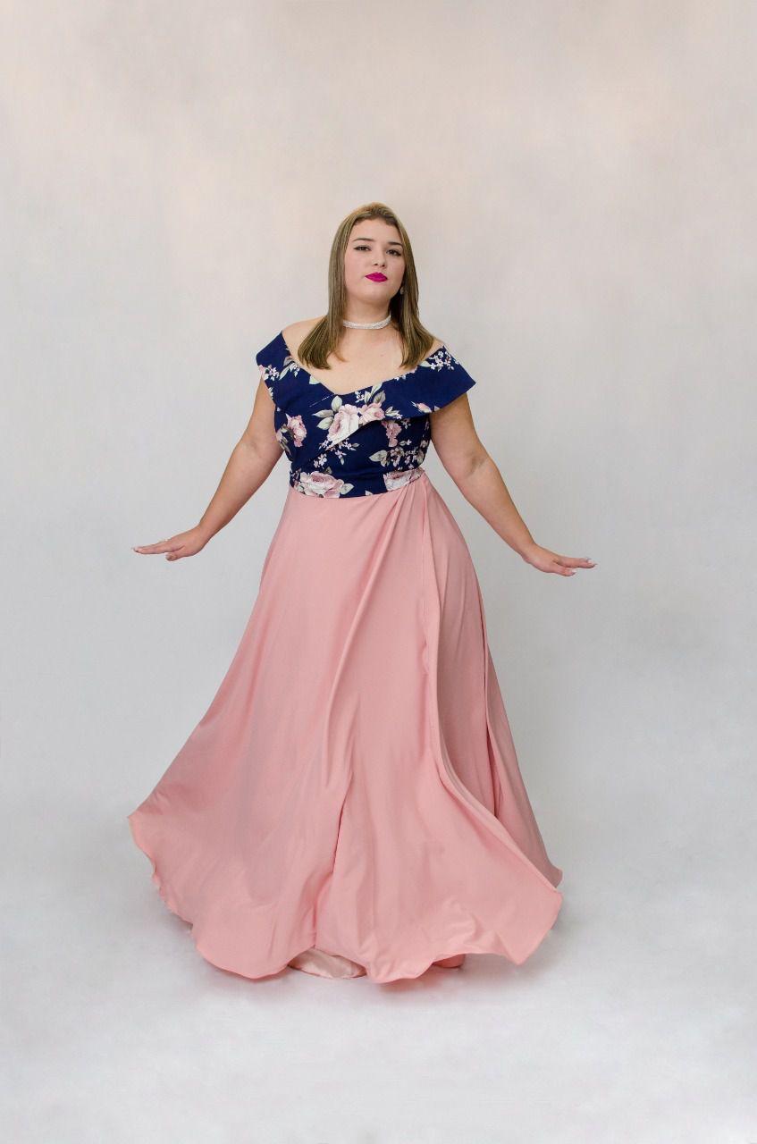 Vestido Estruturado Rosê