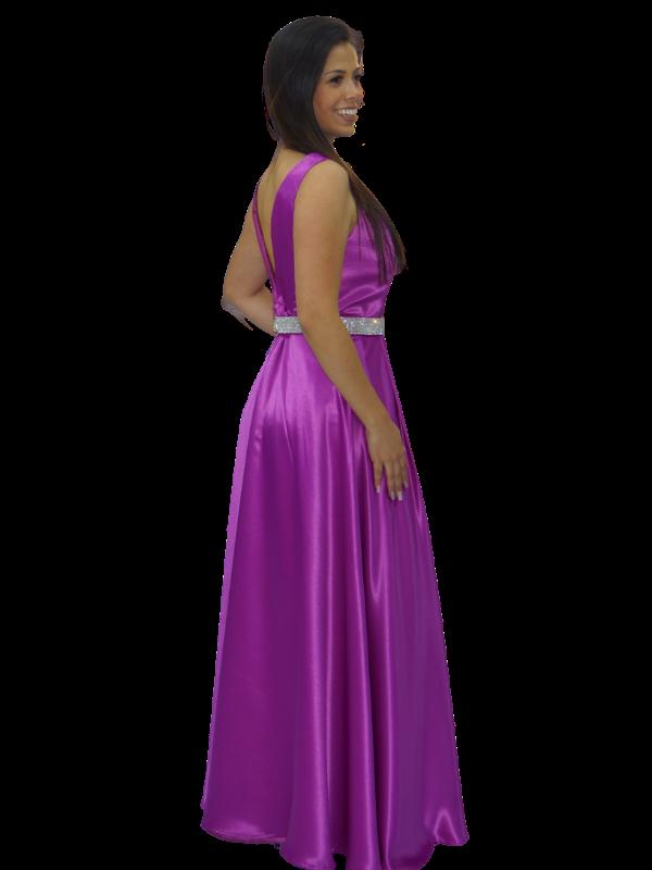 Vestido Rosa Bispo  - CIA. DO AJUSTE