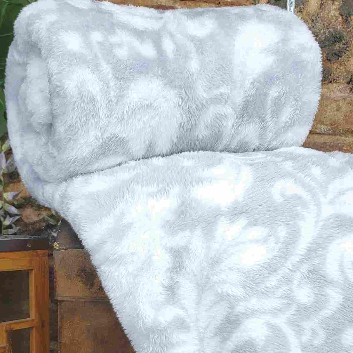 Cobertor MontBlanc Casal 180x220 - Cashmere