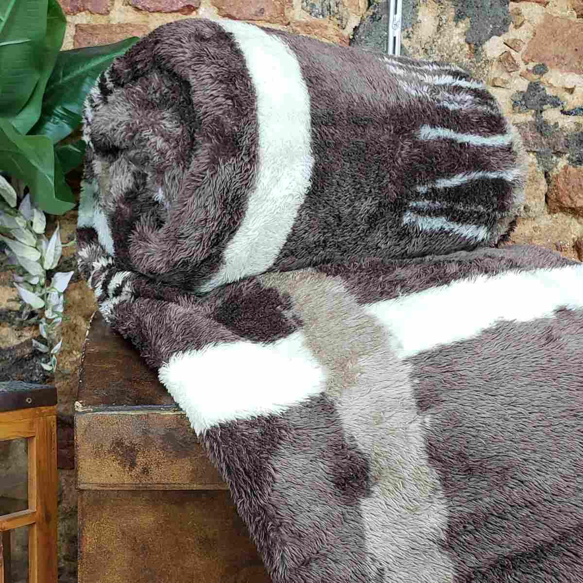 Cobertor MontBlanc Casal 180x220 - Moscou