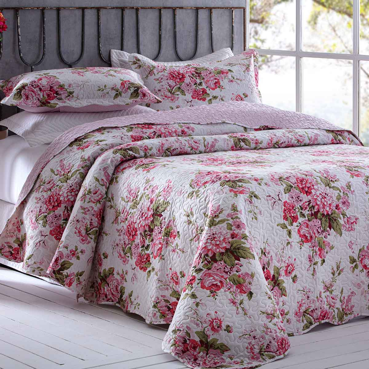 Cobreleito patchwork ultra queen 3pcs Estela 5