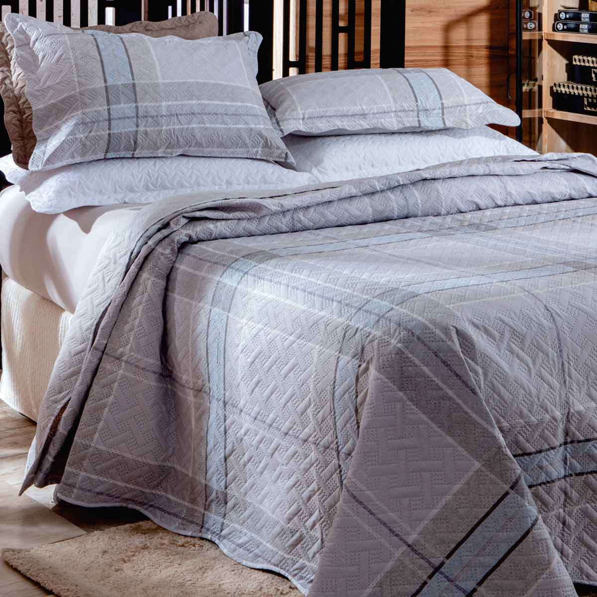 Cobreleito Patchwork Ultra Solteiro 2Pcs London Bristol 5