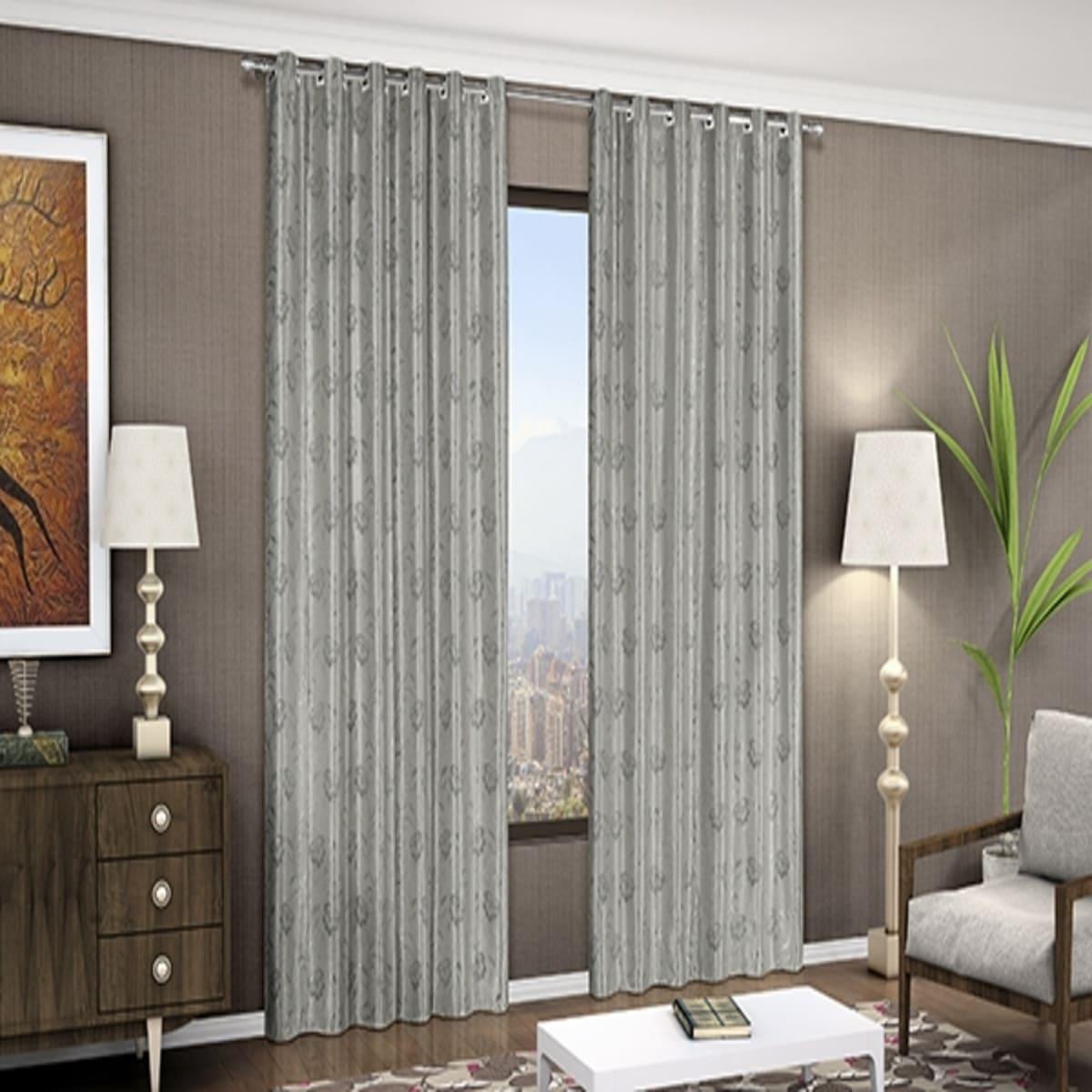 Cortina Corta Luz Flores 400x270