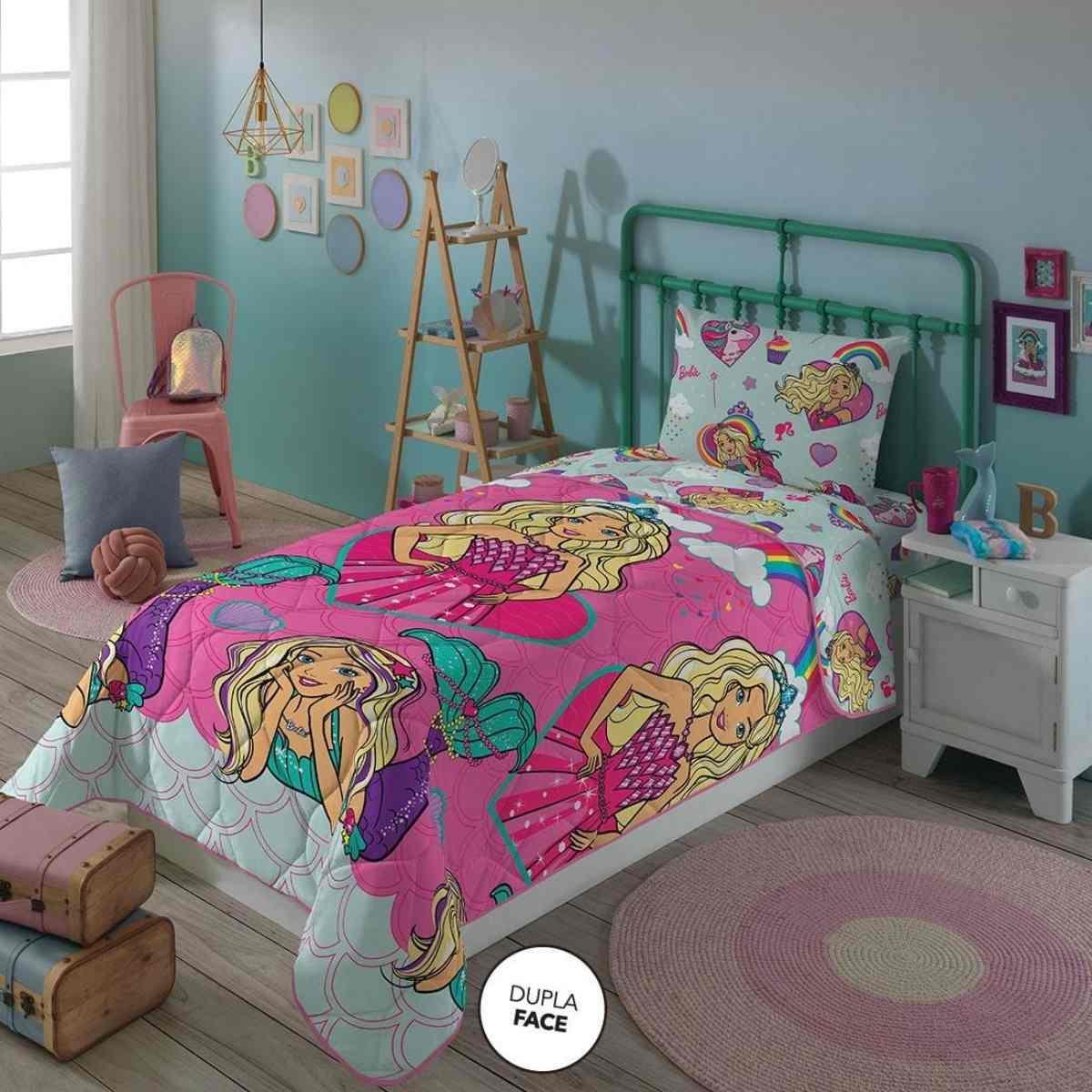 Edredom Infantil 150x220 - Barbie