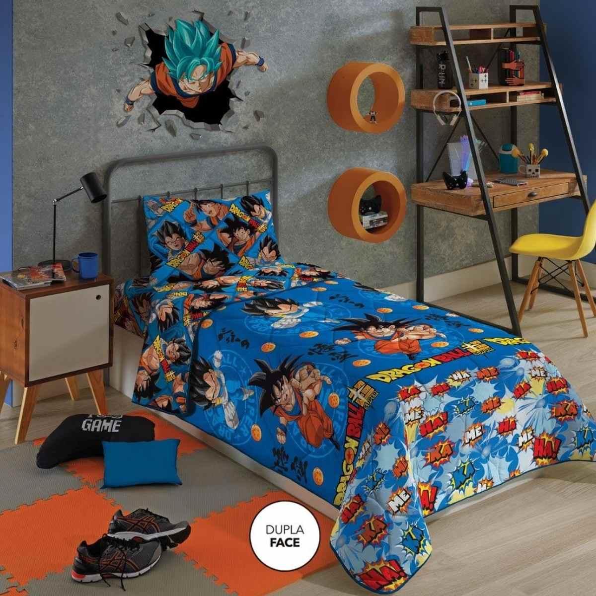 Edredom Infantil 150x220 - DragonBall