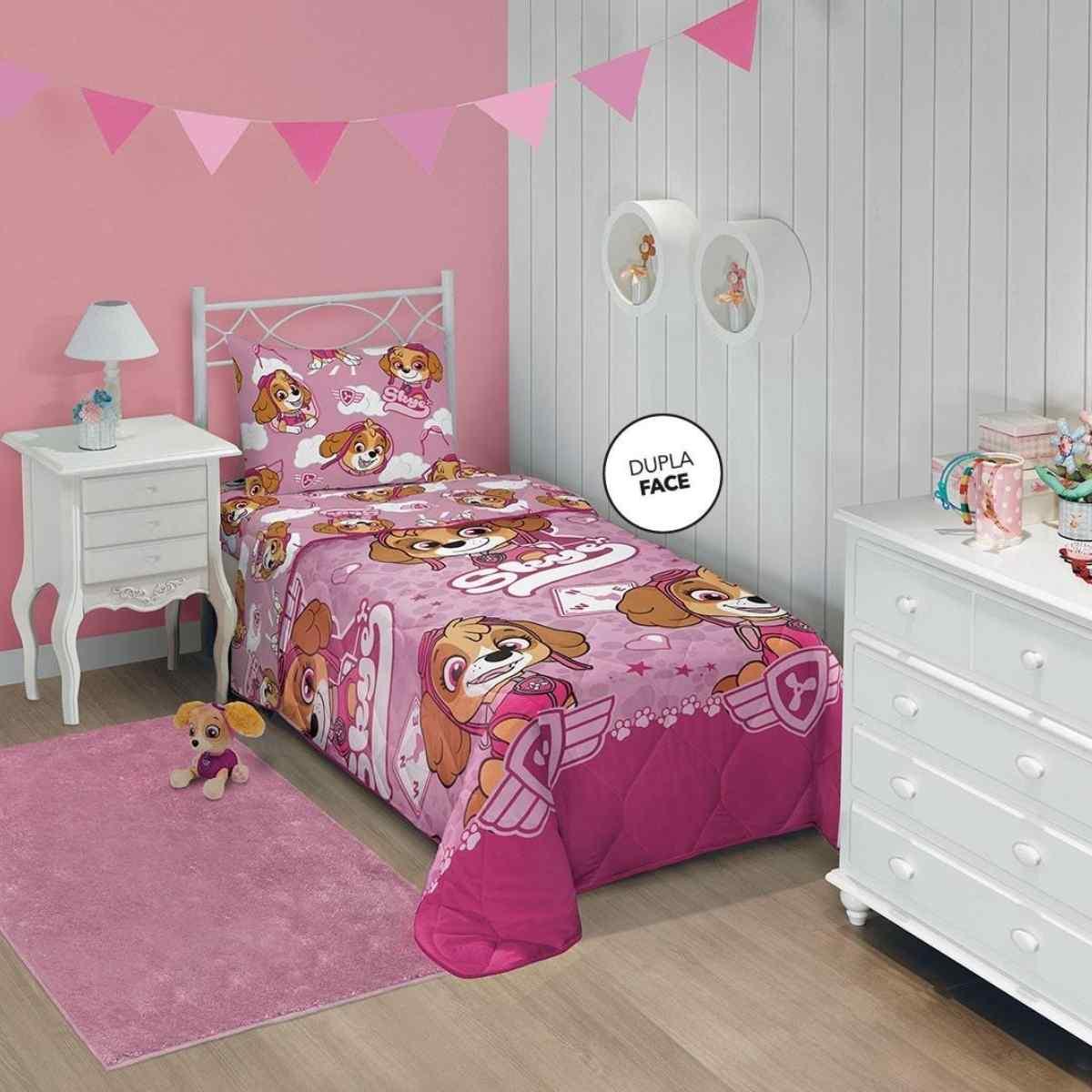 Edredom Infantil 150x220 Patrulha Canina