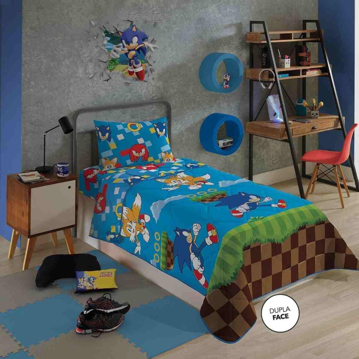 Edredom Infantil 150x220 SONIC